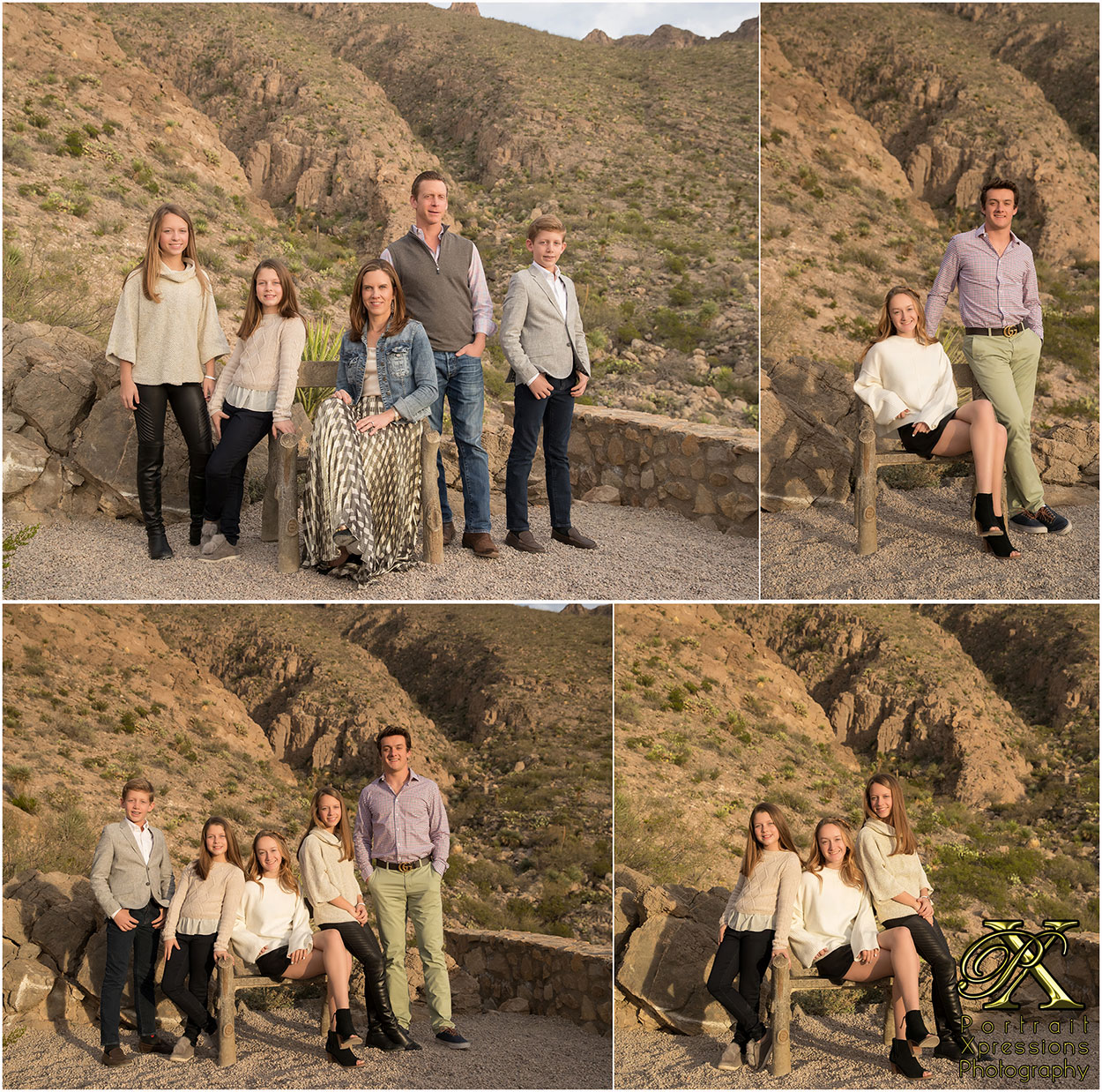 family portraits in El Paso Texas