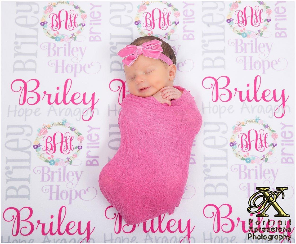 newborn baby photography studio in El Paso