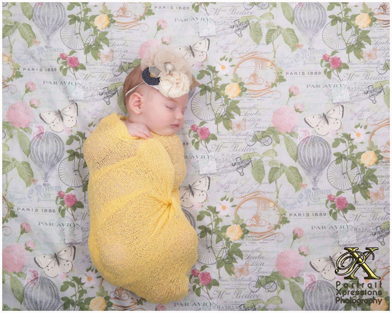 Newborn portrait studio in El Paso