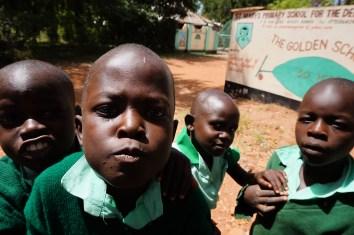 Pause bei den gehörlosen Grundschülern