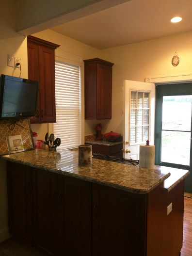 Our Overland location is furnished with beautiful amenities like this new kitchen.