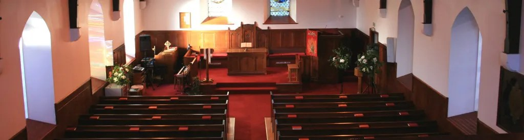 Portree Parish Church interior