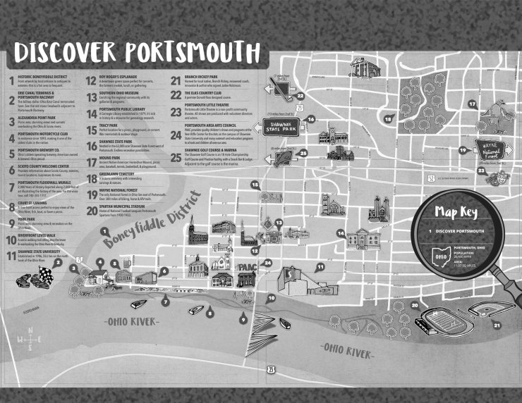 Discover Portsmouth Map