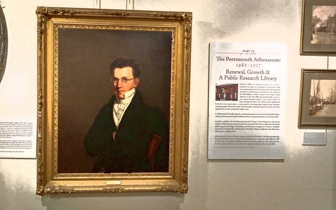 "Athenaeum's ""200 Years"" Exhibit Closing at Discover Portsmouth"