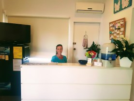 Port Stephens Chiropractic and Yoga Reception