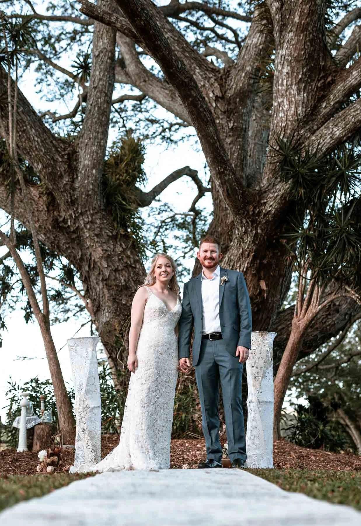 Port Douglas rain tree elopement photography