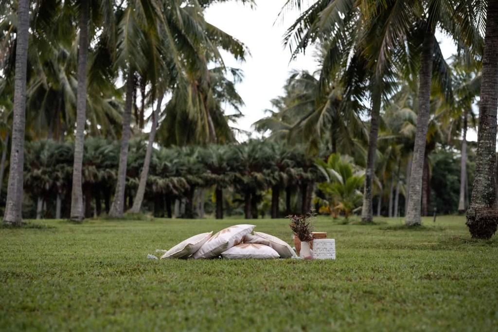 Private picnic setup thala beach nature reserve