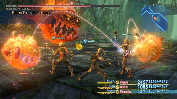 O modo de combate de Final Fantasy XII é dos que proporciona mais liberdade ao jogador