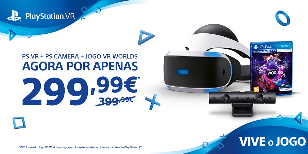 Anunciada descida permanente de preço para o PlayStation VR