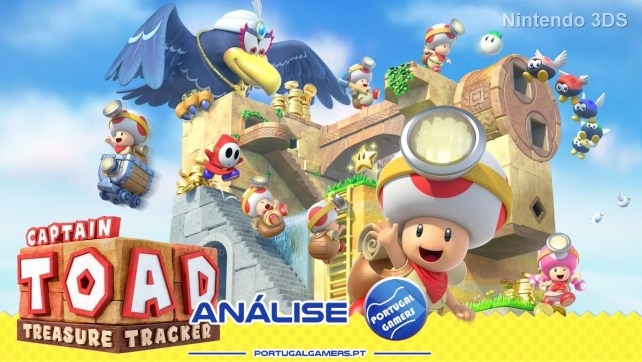 Captain Toad: Treasure Tracker (Nintendo 3DS) – Análise