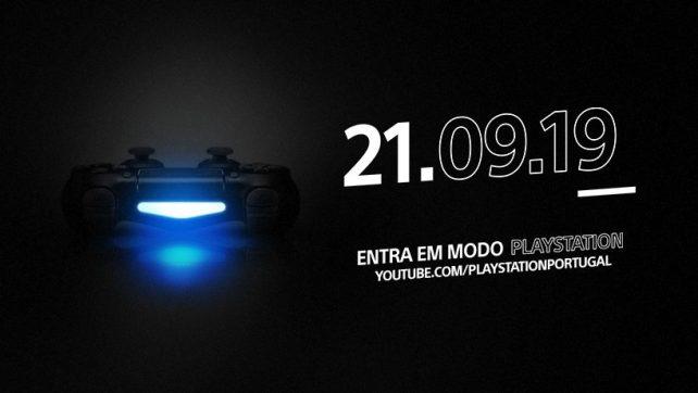PlayStation Portugal anuncia MODO PlayStation com estreia para 21 Setembro 11h no YouTube PlayStation Portugal