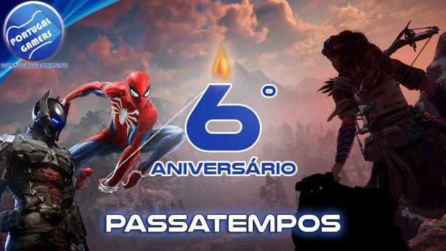 6 anos já? 6º aniversário do Portugal Gamers! – Passatempos