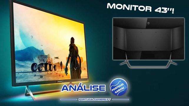 Monitor Philips Momentum 436M6 – Análise