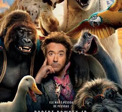 'As Aventuras do Dr. Dolittle' chega aos Cinemas a 16 de janeiro 2020