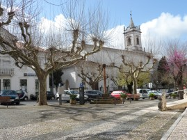 the church in the old part of Lousa