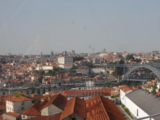 view of Porto from Vila Nova da Gaia