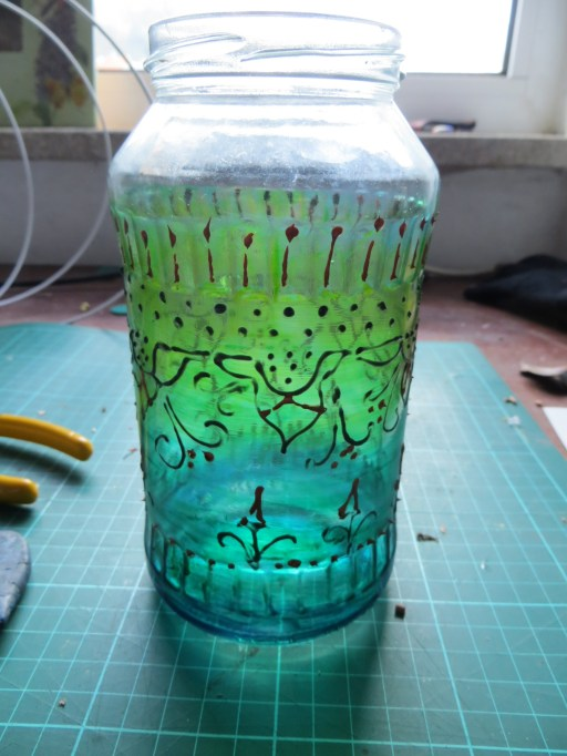I have been recycling some of my jars