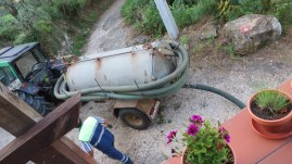 I had to have my fossa ( septic tank) emptied this week.