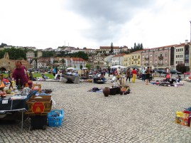 and I had an unplanned trip to Coimbra - where there was the Saturday flea market.