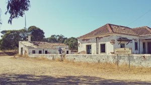 abandoned house in the forest west algarve