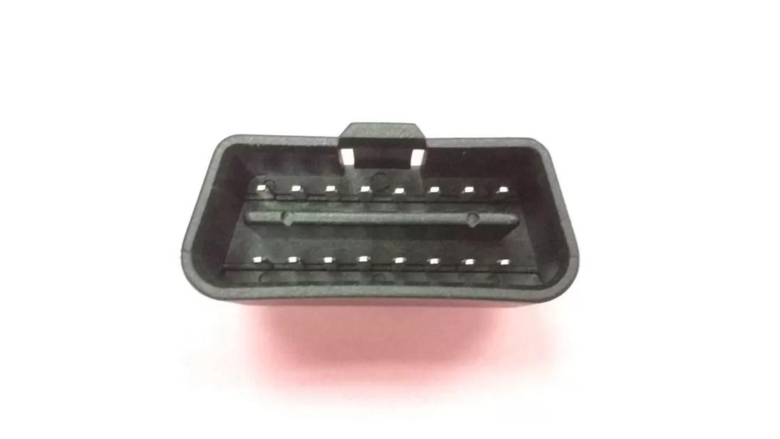 Injecao Material Padrao Do Pvc Do Conector De 16 Pin J