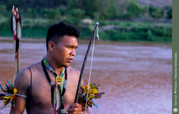 Índio da tribo Krenak.