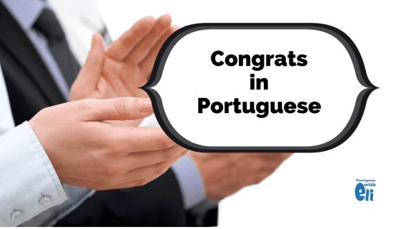 congratulations in portuguese