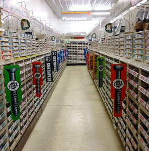 Photo of Nuts and Bolts at North Pro Hardware Store