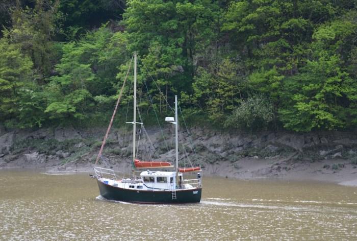 boat on avon