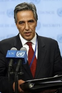 Representante Polisario ante la ONU, Ahmed Bujari
