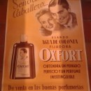 Cartel Publicitario de Colonia Oxfort