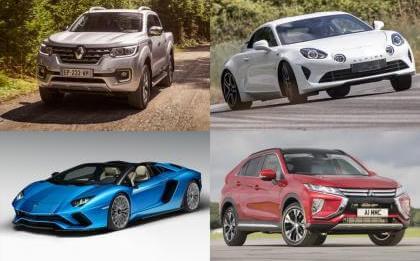 Τα καλύτερα αυτοκίνιτα του 2018, ta kalitera autokinita tou 2018