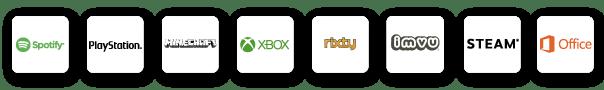 moviired app spotify playstation xbox netflix