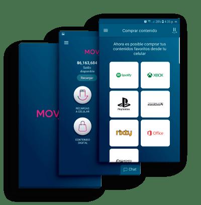 MOViiRED App vender recargas