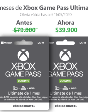 promocion xbox game pass ultimate