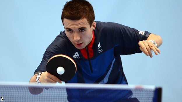 Crowd at Paralympics affected me, says Will Bayley
