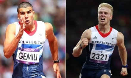 Jonnie Peacock and Adam Gemili are going places fast