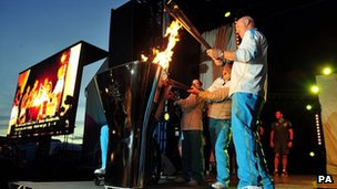 Paralympic flame plan at Stoke Mandeville agreed