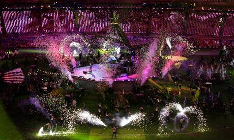 Spectacular Closing Ceremony Closes Greatest Games Ever