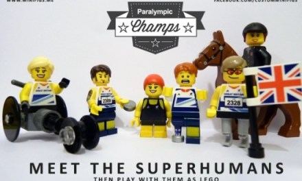 Meet the Superhumans, then play with them as Lego