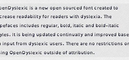 The free 'gravity' font that could make reading online easier for dyslexia sufferers