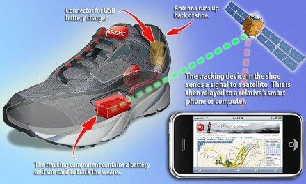 The shoe with in-built GPS that tracks Alzheimer's patients – and gives their relatives peace of mind