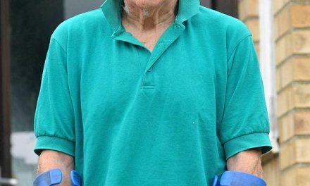 Disabled OAP mugged outside Tesco while shoppers looked the other way