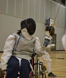 Fencing expert Keith Cook says sport is for all