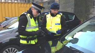 Eight caught in disabled parking badges crackdown in Edinburgh