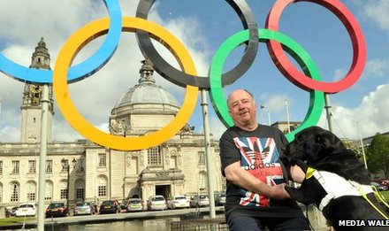 Guide Dogs Cymru tribute to Paul Jenkins who raised £2.5m for charity