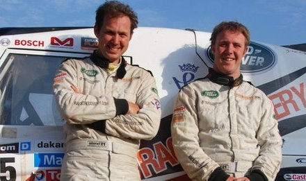 Dakar Rally: NI soldier in first ever disability team to reach finish line