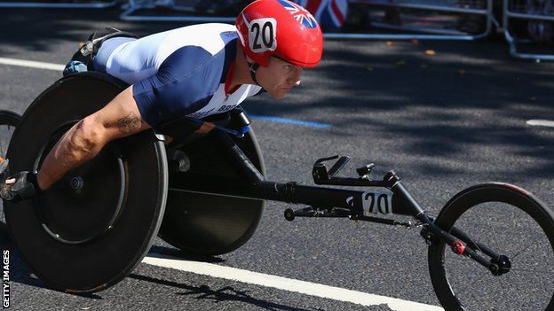 David Weir starts to focus on London Marathon