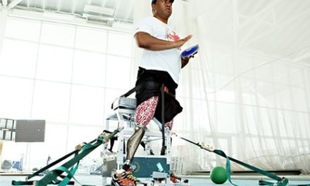 'Bionic legs' for military amputees