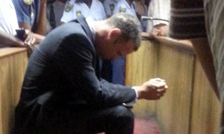 Oscar Pistorius held in single cell for his own protection